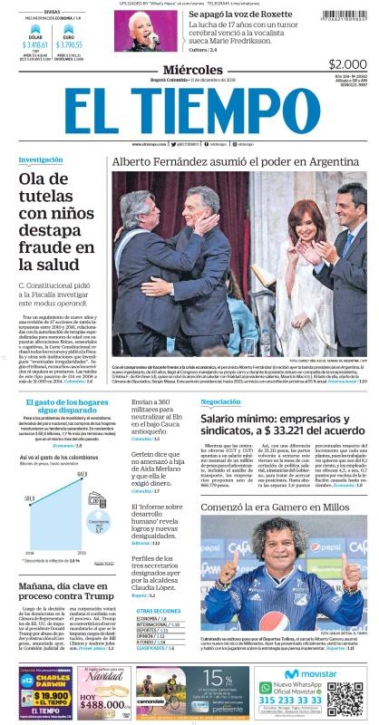 El Tiempo - 11 12 (2019)