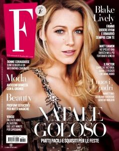 Blake Lively -                   F Magazine (Italy) December 27th 2017.