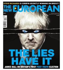 The New European  28 November (2019)