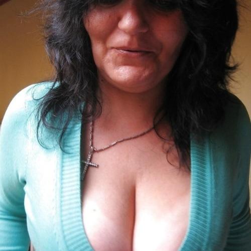 Big tit mature threesome