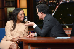 Aisha Tyler - The Late Show with Stephen Colbert: April 11th 2018