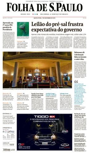 Folha de S 227 o Paulo - 07 11 (2019)