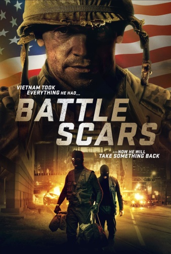 Battle Scars (2020) 720p WEBRip x264 ESubs [Dual Audio][Hindi+English]
