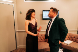 Maggie Siff - The Late Late Show with James Corden: March 25th 2019
