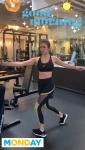 Nina Dobrev - Workout 4/8/19