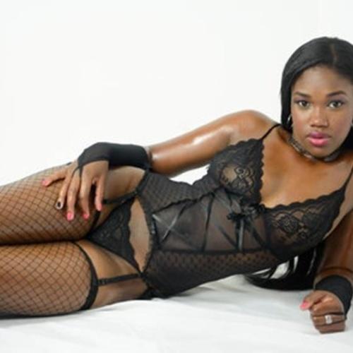 Naked black skinny women