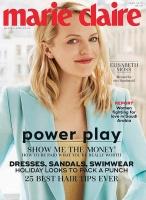 Elisabeth Moss -                       Marie Claire Magazine June (2018).
