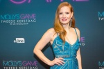 """Jessica Chastain - """"Molly's Game"""" Amsterdam premiere 12/12/17"""
