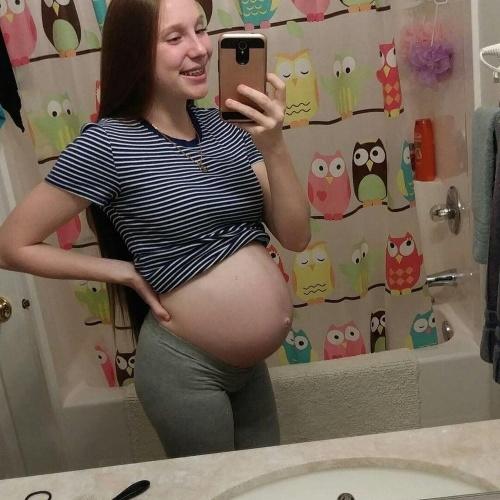 Cute pregnant girl pics