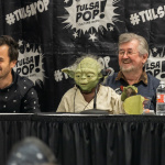 Celebrities talk about the characters they played on TV during Q&A panels