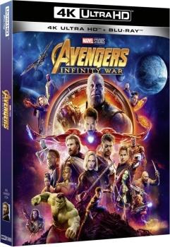 Avengers: Infinity War (2018) Full Blu-Ray 4K 2160p UHD HDR 10Bits HEVC ITA GER FRE DD Plus 7.1 ENG TrueHD 7.1