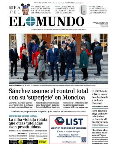 El Mundo - 15 01 (2020)