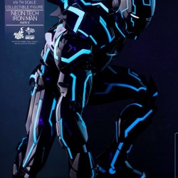 "Iron Man 2 - Mark IV Neon Tech ""Toy Flair Exclusive 2018"" 1/6 (Hot Toys) MLL8mVje_t"