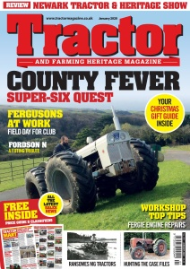 Tractor & Farming Heritage Magazine - January (2020)