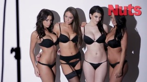 Holly Peers, Emma Frain & Friends - Naked Photoshoot (31 Jan