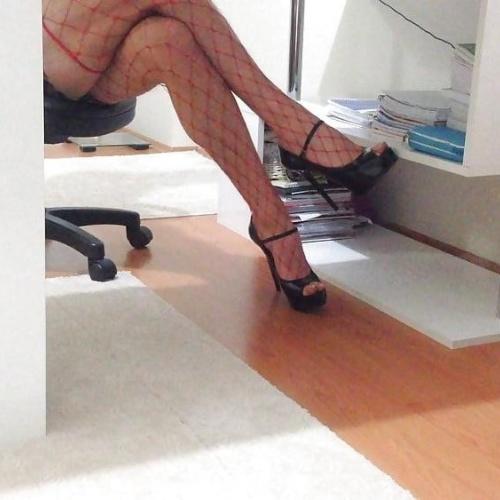 Sexy milf office