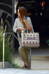 Jessica Alba Out In LA August 26, 2019