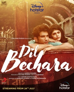 Dil Bechara (2020) 1080p HDRip x264 DD5 1 ESubs-TeamTT