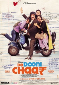 Do Dooni Chaar (2010) Hindi - 720p WEB-DL - x264 - DD 5 1 - ESubs - Sun George-DrC
