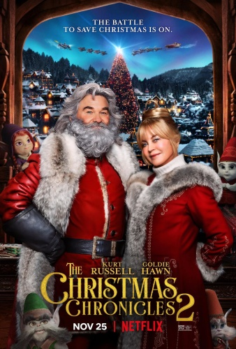 The Christmas Chronicles 2 (2020) 720p HDRip x264 [Dual Audio][Hindi+English] KMHD