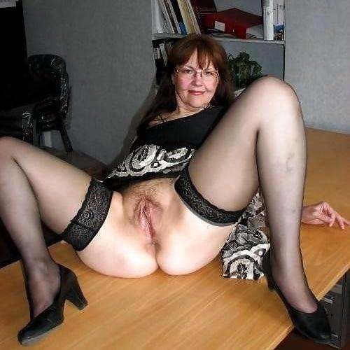 Sexy mature women in nylons
