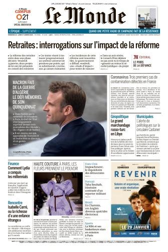 Le Monde - 26 01 2020 - 27 01 (2020)