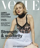 Carey Mulligan -       Vogue Magazine (Australia) May 2020.