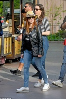 Jessica Chastain - spending a day at Disneyland in Anaheim 3/31/18