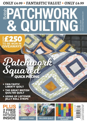 Patchwork & Quilting UK - February (2020)