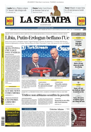 La Stampa - 09 01 (2020)
