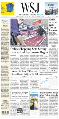 The Wall Street Journal - 30 11 2019 - 01 12 (2019)