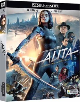 Alita - Angelo della battaglia (2019) Full Blu-Ray 4K 2160p UHD HDR 10Bits HEVC ITA DTS 5.1 ENG Atmos/TrueHD 7.1 MULTI