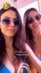 Victoria Justice and Madison Grace in Bikini Top 2/19/2019