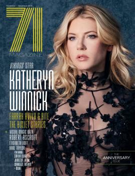 Katheryn Winnick -         71 Magazine November/December 2019.