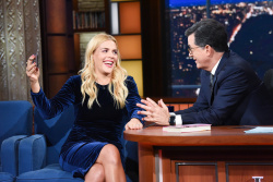 Busy Philipps - The Late Show with Stephen Colbert: October 17th 2018