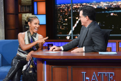 Jada Pinkett Smith - The Late Show with Stephen Colbert: August 13th 2019
