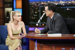 Anna Faris - The Late Show with Stephen Colbert: October 23rd 2017