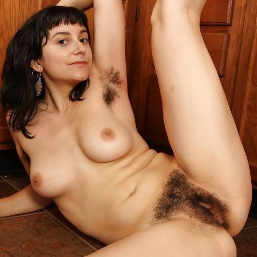 Natural hairy girls