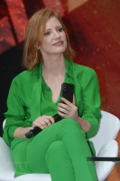 Jessica Chastain - FOX panel at CCXP in São Paolo 12/7/18