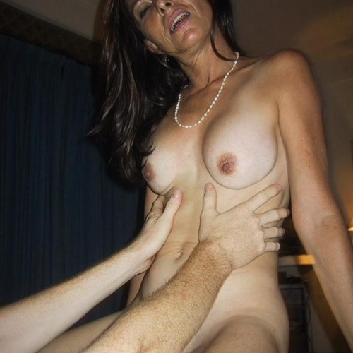 Mature wife young guy