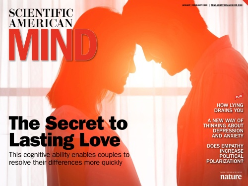 Ssientifis American Mind - January - February 2020 Tablet Edition