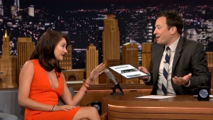 Shailene Woodley | Jimmy Fallon Sep 14, 2016 | Cleavage | HD 1080p
