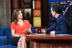 Margaret Brennan - The Late Show with Stephen Colbert: April 30th 2018