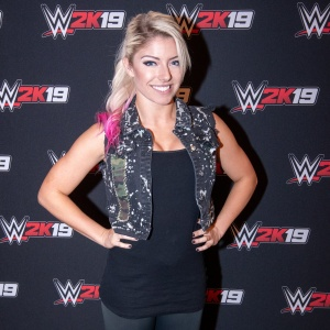 Alexa Bliss - WWE 2K19 media day in Orlando - 09/12/2018