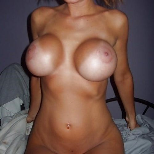 Sexy girls with fake tits