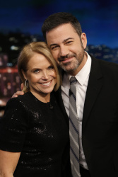 Katie Couric - Jimmy Kimmel Live: March 20th 2018