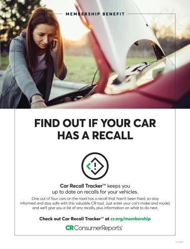 Consumer Reports New Cars - May (2020)