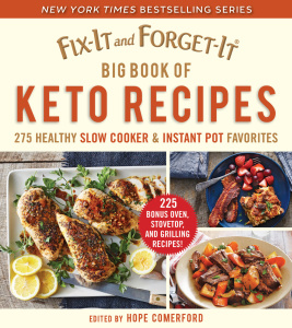 Fix-It and Forget-It Big Book of Keto Recipes - Hope Comerford