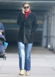 Katie Holmes - Out in New York 1/11/19