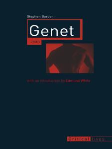 Jean Genet (Critical Lives)